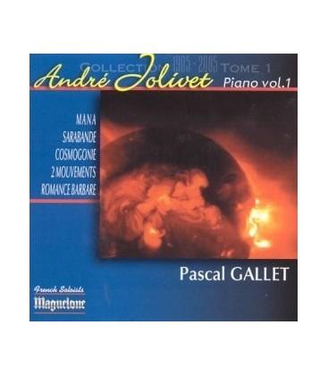 André Jolivet (Tome2) - Œuvres pour piano vol.1