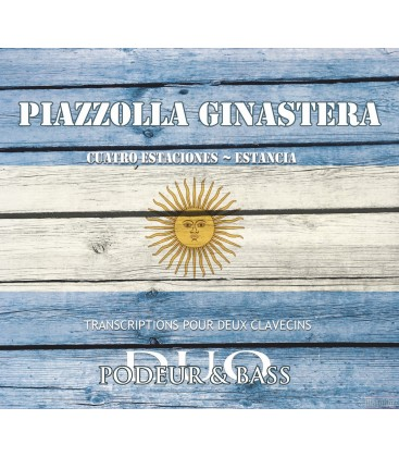 Piazzolla-Four Seasons — Ginastera-Estancia