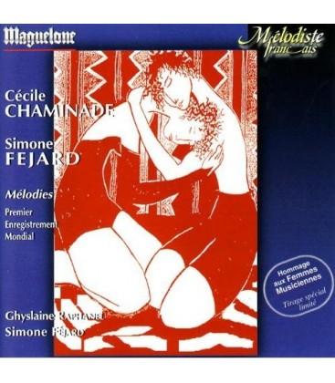 Chaminade - Féjard  - Mélodies