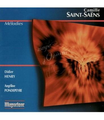 Camille SAINT-SAENS Mélodies