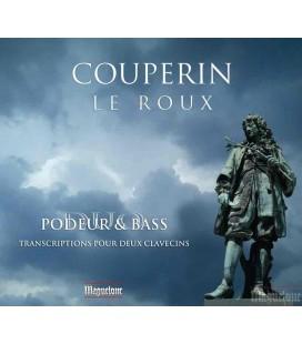 COUPERIN-LE ROUX — DUO PODEUR-BASS clavecins