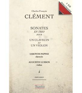 CLEMENT - Sonates en trio — Pappas, Lusson