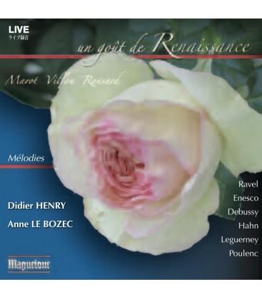 Un goût de renaissance - mélodies (Enregistrement LIVE)
