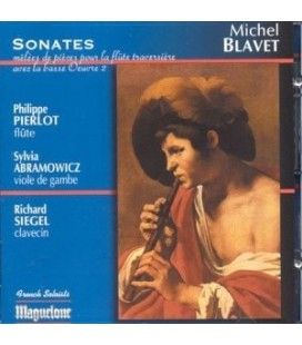 Michel BLAVET - Sonates pour Flûte op.2
