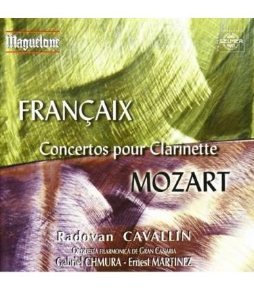 Françaix - Mozart Concertos pour clarinette