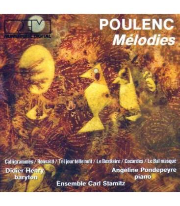 Francis Poulenc - Mélodies - Didier Henry