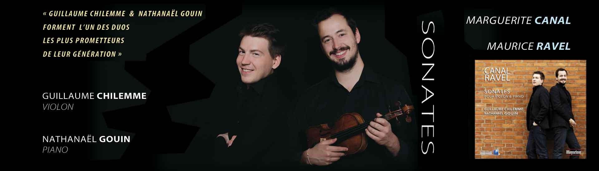 Canal-Ravel Sonates